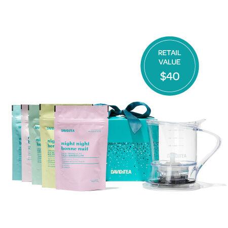 Tea Steeper Gift Set