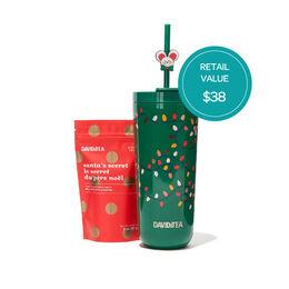 Tumbler & Santa's Secret Tea Gift Set