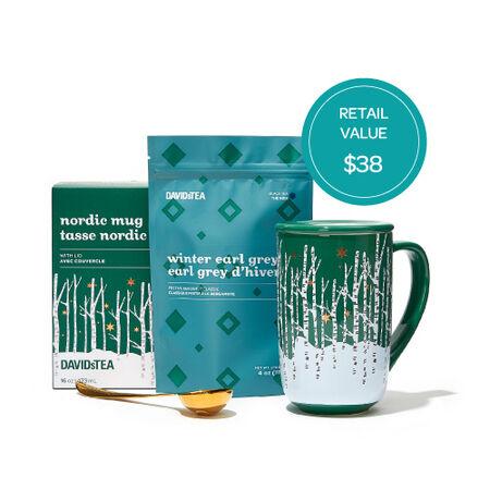 Nordic Mug & Winter Tea Gift Set