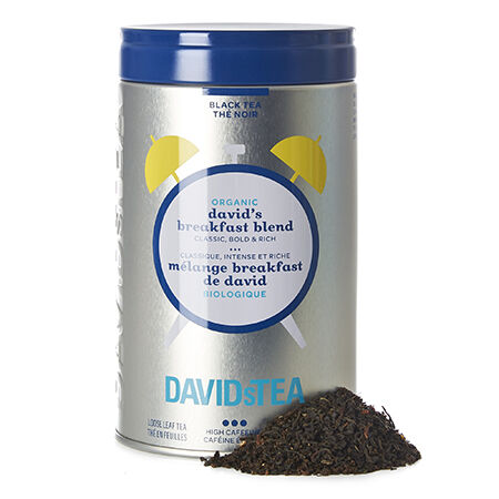 Organic David's Breakfast Blend Iconic Tin