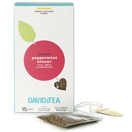 Organic Peppermint Amour Sachets