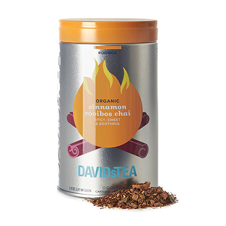 Organic Cinnamon Rooibos Chai Iconic Tin