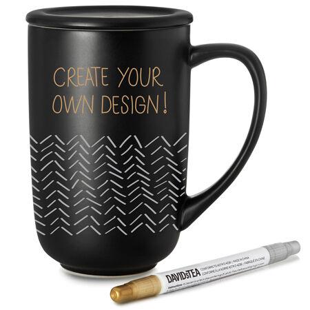 Customizable Nordic Mug Black