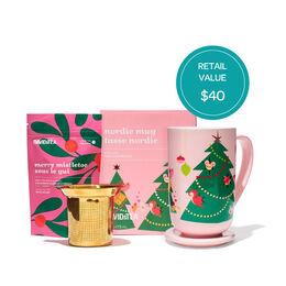Nordic Mug & Holiday Tea Gift Set