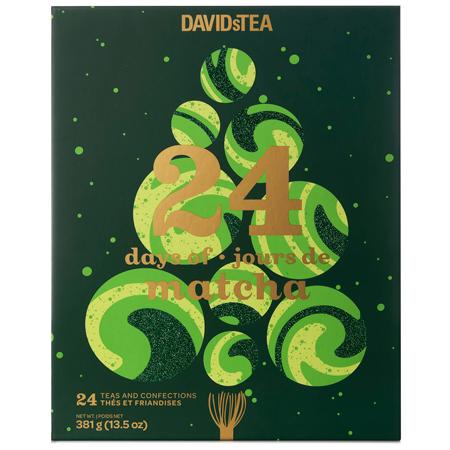 DAVIDsTEA 24 Days of Matcha
