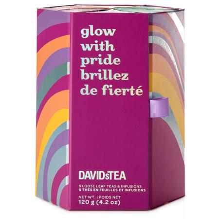 DAVIDsTEA Glow with pride 6 Tea Sampler
