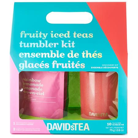 DAVIDsTEA Fruity Iced Teas Tumbler Kit