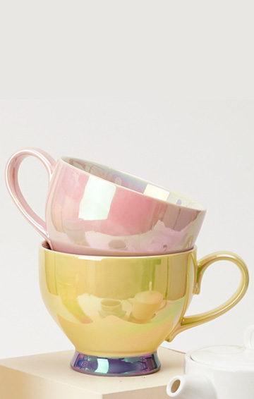 Bloom tea cups