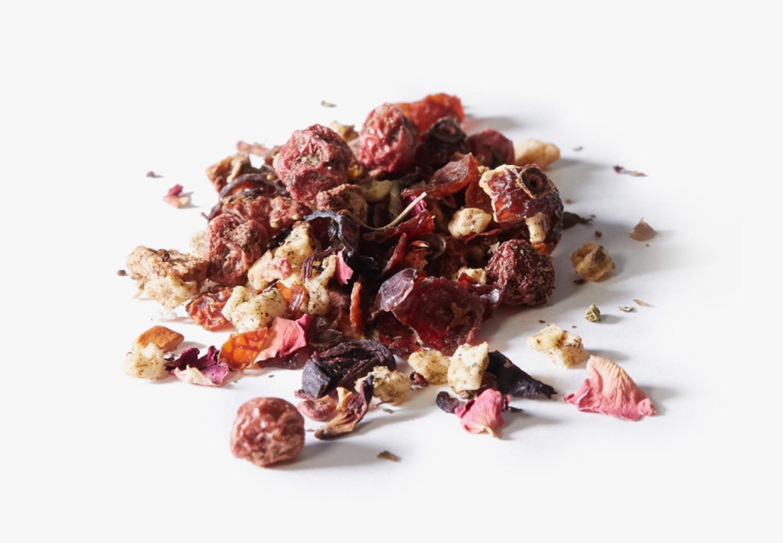Tulsi Tranquility tea ingredients.