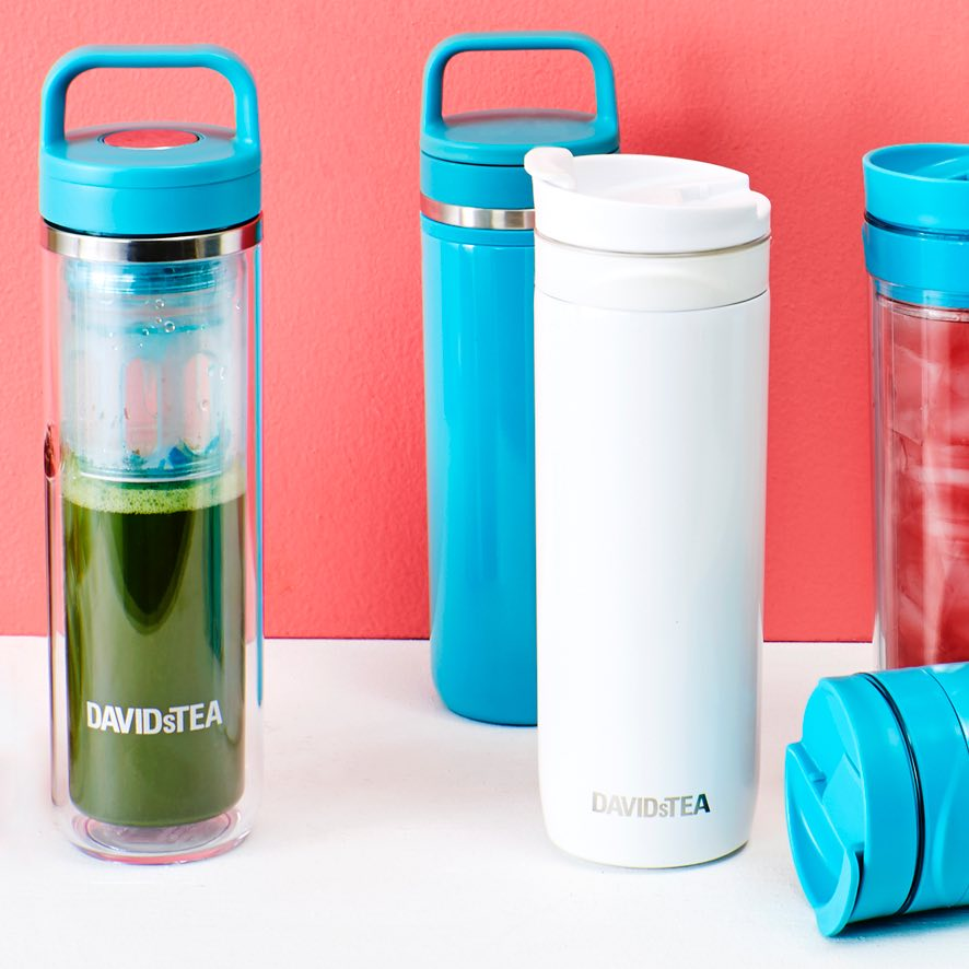 16 oz travel mug with easy-carry lid,16 oz travel mug, clear 14 oz matcha maker, 16 oz iced tea travel mug, 100 g tea tin.