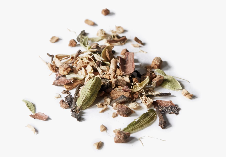 Ingrédients du thé Chaï au guarana.