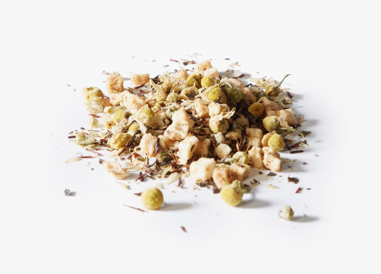 Valerian Nights tea ingredients.