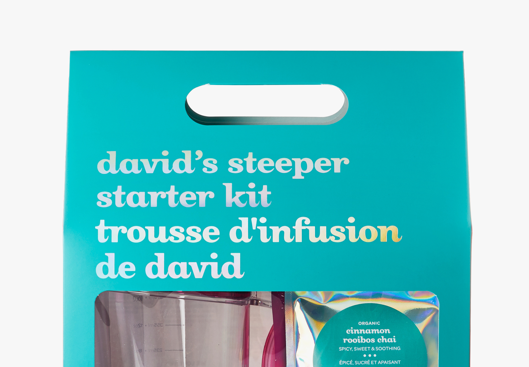 David's Stepper Starter Kit on a white backdrop.