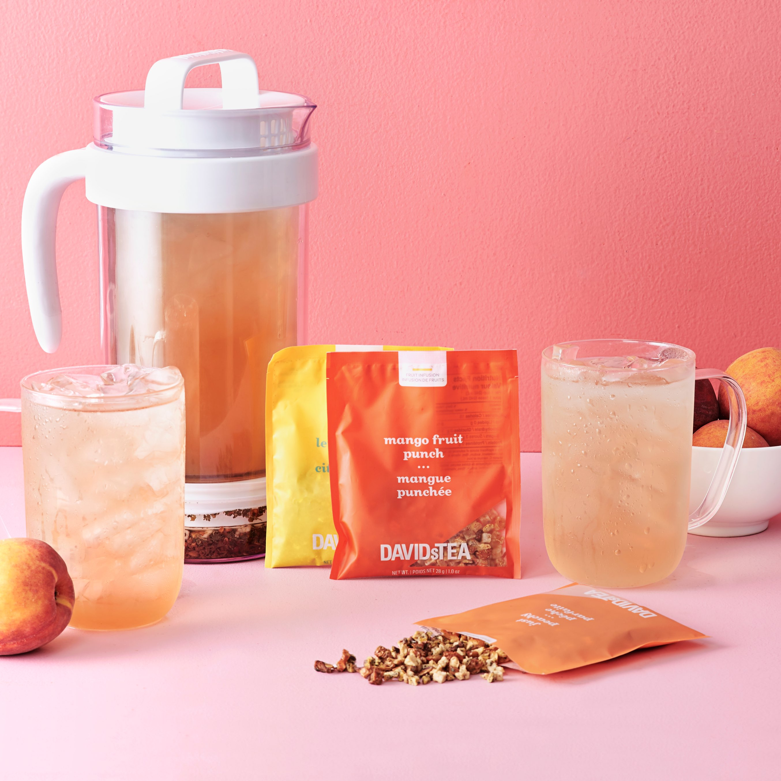 Save on iced tea pitcher packs