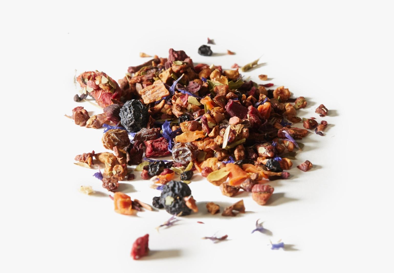 Just Beet It tea ingredients.