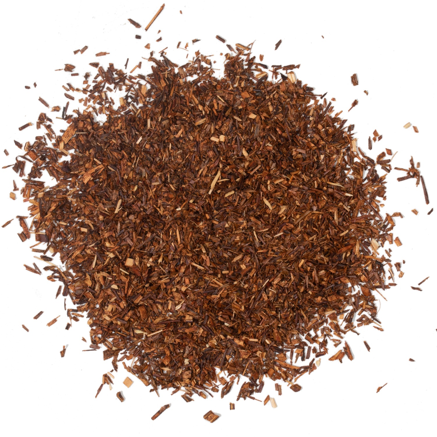 Splash of loose leaf rooibos tea.