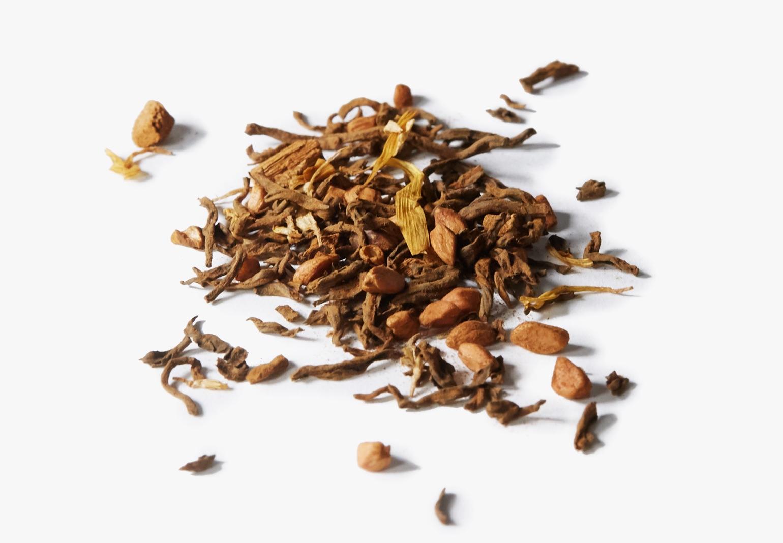 Organic Lady Chaga tea ingredients.