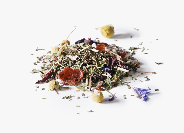 Organic Mother's Little Helper tea ingredients.