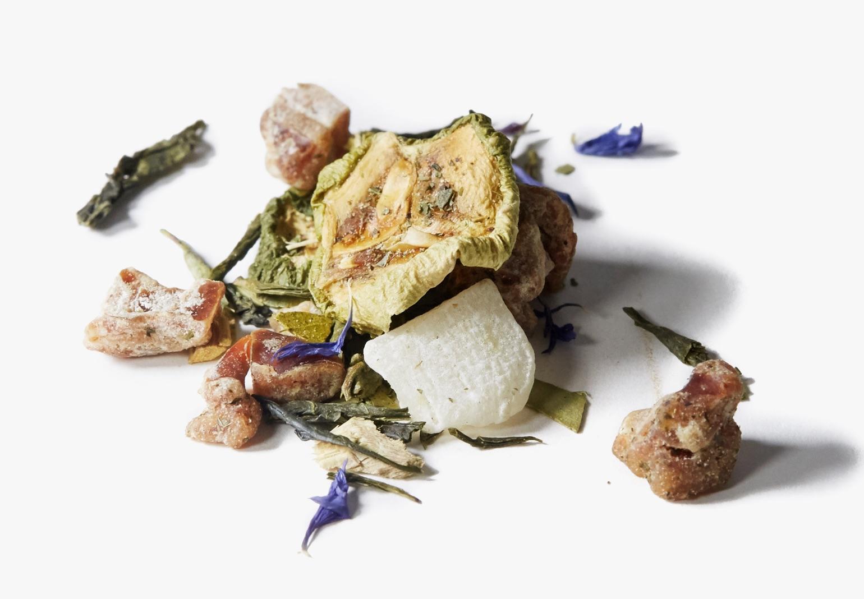 Eucalyptus Mist tea ingredients.