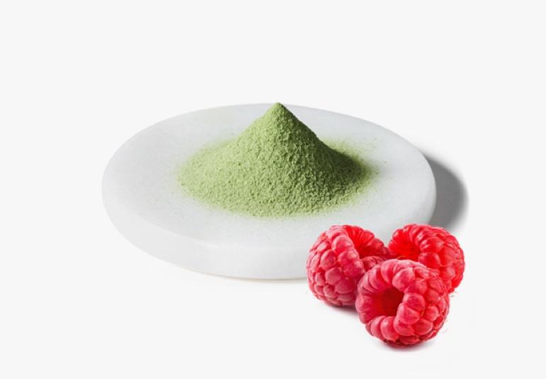 Raspberry Matcha